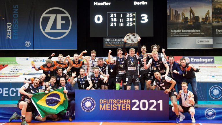 Read more about the article BR Volleys sind Deutscher Meister 2020/21